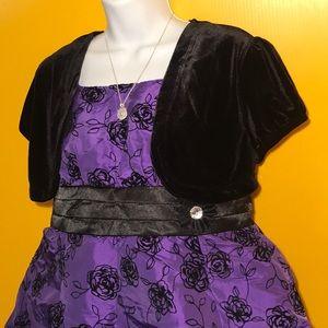 Sparkly Purple Dress by Amy's 🌸 Closet Size 20.5